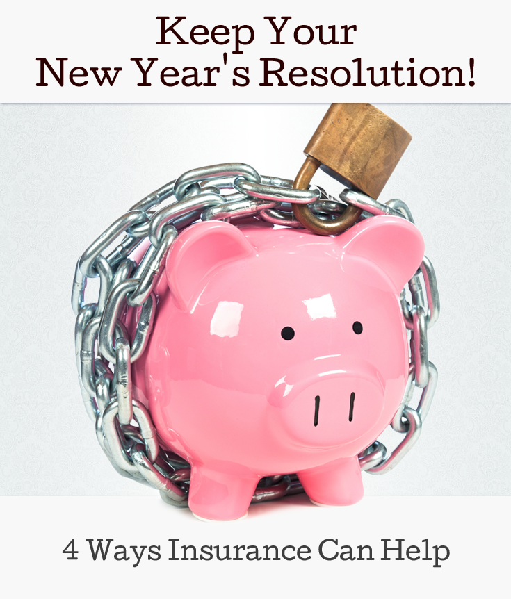 Keep Your New Year's Resolution! How Insurance Can Help