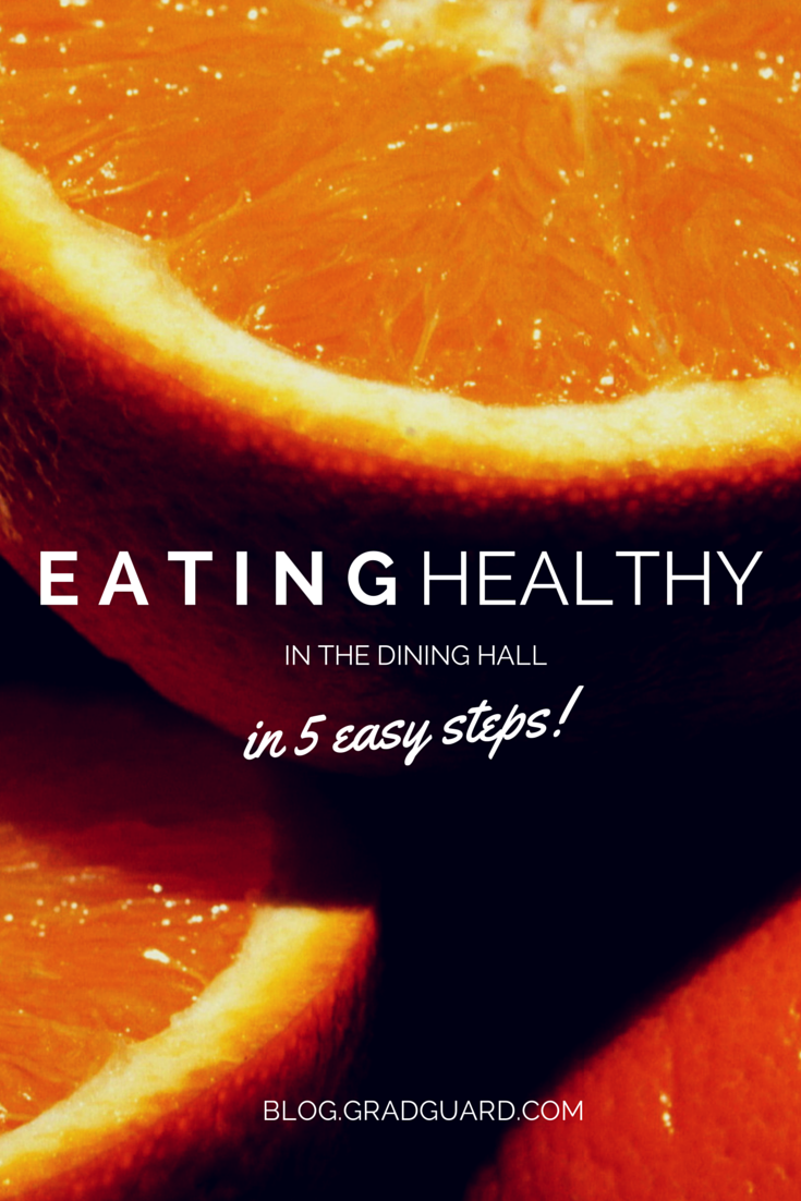 5 Steps to Healthy Dining Hall Eating