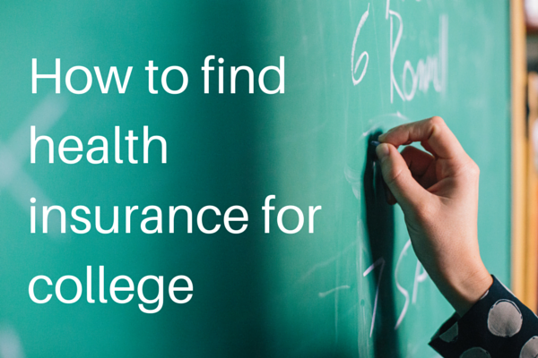 How to find health insurance for college