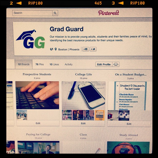 GradGuard on Pinterest