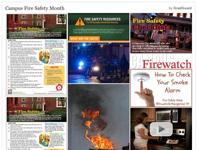 Everything You Need to Know for Campus Fire Safety Month