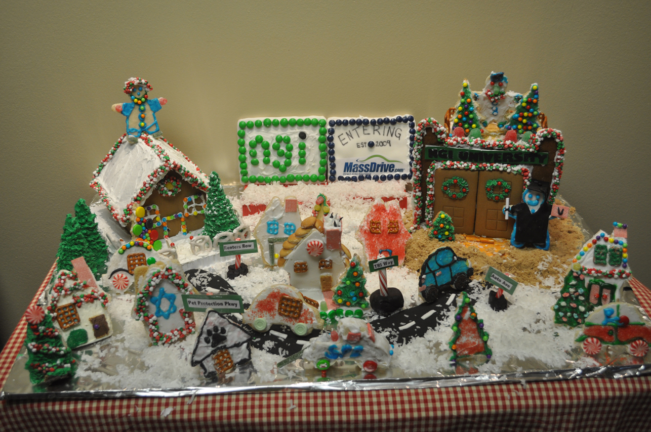 Holiday Cookie Insurance Scene