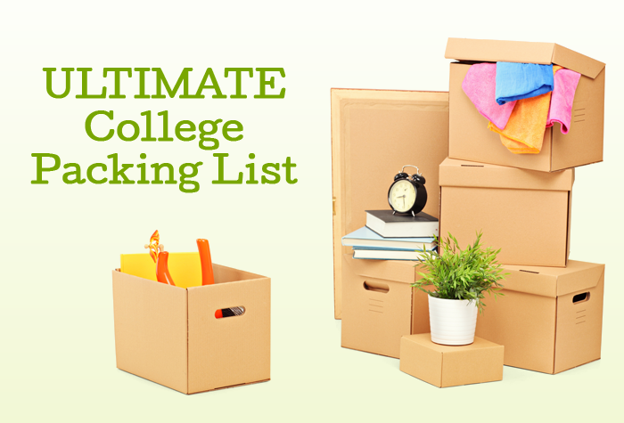 The ULTIMATE College Packing List - this is so helpful! Everything in one place!