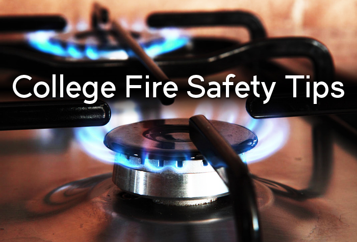 SO USEFUL - College Fire Safety Tips EVERY Student NEEDS to Know!