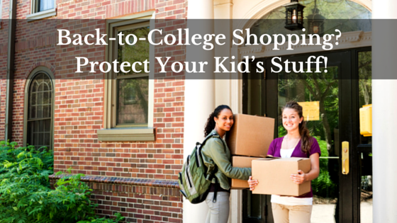 back to college shopping protect your stuff