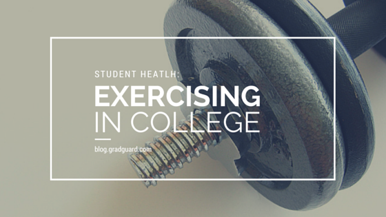exercising in college