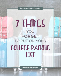 Don't forget these 7 things that people often leave behind when going to college!