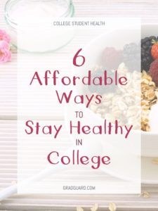 Staying healthy in college can seem daunting, but here are 6 affordable ways to help you make better food and health choices!
