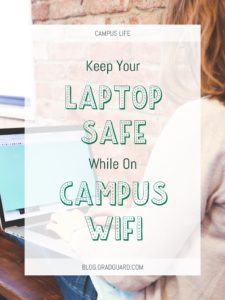 Keep your laptop safe on your campus wifi network to prevent hacking and identity theft.